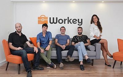 The Workey team (Omri Aharonov)