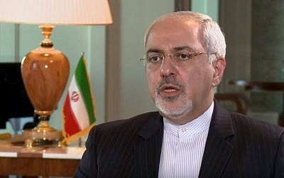 Iranian Foreign Minister Mohammad Javad Zarif. (YouTube/Al Jazeera America)