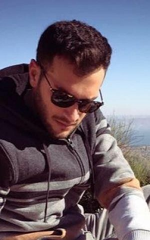 Alon Bakal, 26, was killed in a shooting attack in central Tel Aviv on January 1, 2016 (photo via Facebook)