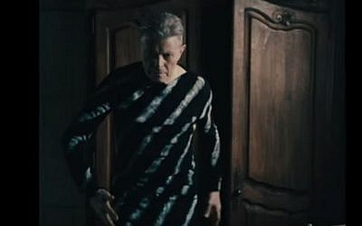 A still from David Bowie's 2016 music video 'Lazarus.' (Screen capture: YouTube)