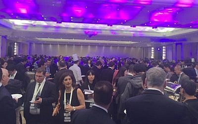 Some of the attendees at this week's China-Israel business summit in Beijing (Courtesy)