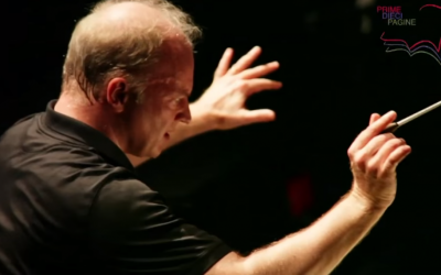 Italian conductor Gianandrea Noseda conducting the opera Faust in June, 2015. (screen capture: YouTube)