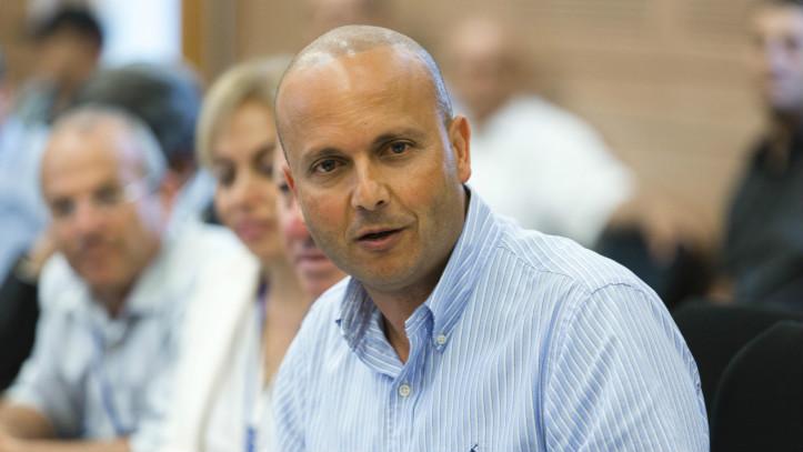 Mayor of Ashkelon, Itamar Shimoni, on July 28, 2014. (Flash 90)