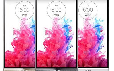 LG G3 phones (Courtesy)