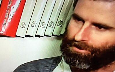 Natan Meir (Channel 2 screenshot)