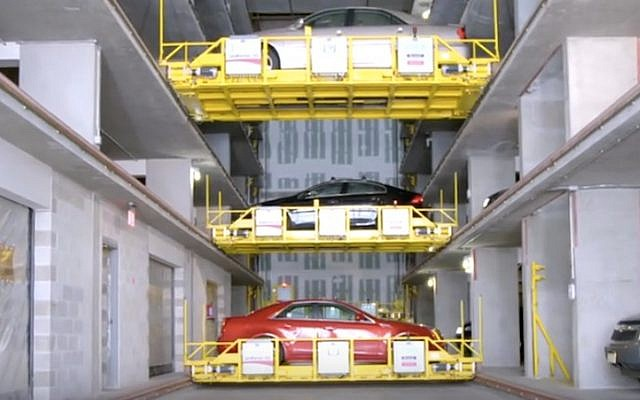 A Unitronics automated parking solution in action (Courtesy)