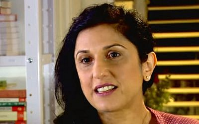 File: Author Dorit Rabinyan (screen capture: YouTube)