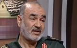 Brig. Gen. Hossein Salami, the second-in-command of the Islamic Revolutionary Guard Corps. (YouTube screen capture)