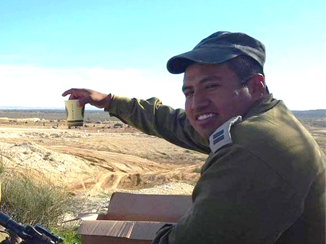 Cpt. Yishai Rosales, who was killed during an IDF training exercise on Tuesday, January 5, 2016 (screen capture)
