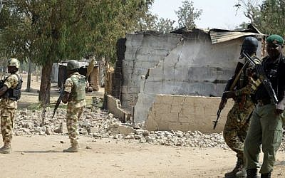 Illustrative photo of Nigerian security forces on February 4, 2016. (AFP)