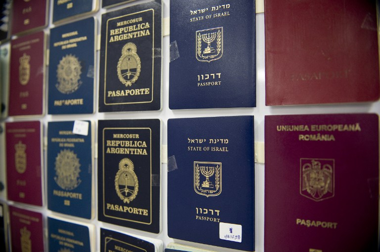 suspected forger nabbed in thailand carrying israeli passports   the      rh   timesofisrael com