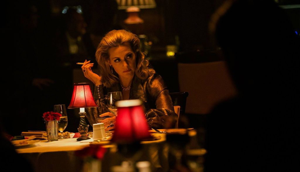 "Kate Winslet plays a mobster in 'Triple 9,"" which opens in the US this February 26, 2016. (Open Road Films)"