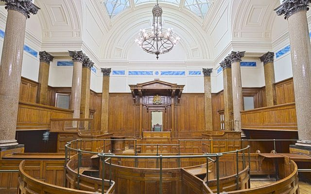 Illustrative photo of a UK courtroom. (CC BY Michael D Beckwith/Flikr)