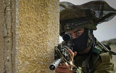 The IDF's new Commando Brigade held their first exercise last week. (IDF Spokesperson's Unit)
