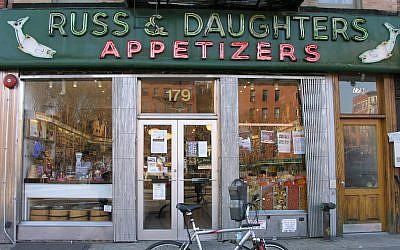Russ & Daughters' Houston Street shop has been operating since 1920. (Flickr via JTA/Jeffrey Bary/CC BY 2.0)