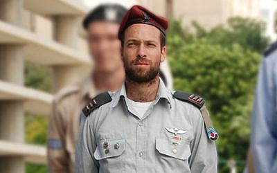 Cpt. (res.) Eliav Gelman (Hagar Amibar/Israel Air Force)