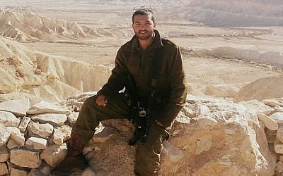 Tuvia Yanai Weissman, 21, an IDF soldier who was killed in a stabbing attack in a West Bank supermarket on Thursday, February 18, 2016. (Courtesy)