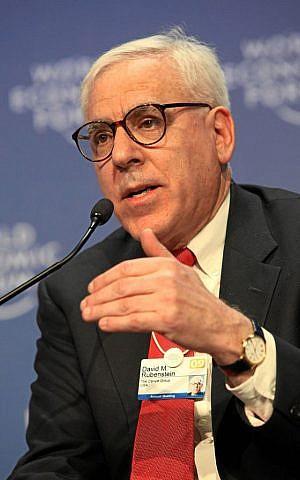 David Rubenstein (© Monika Flueckiger / World Economic Forum)