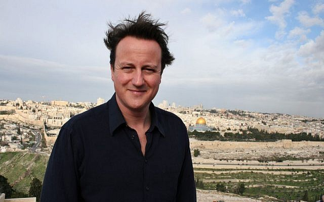 Britain's opposition Conservative party leader David Cameron pauses during a tour in Jerusalem on Thursday March 1, 2007. (AP/Sameer Bazbaz)