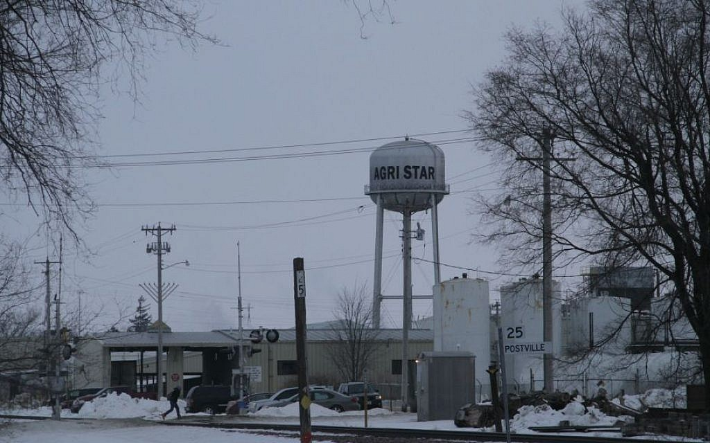 The Largest Kosher Slaughterhouse In United States Is Located Postville Iowa And