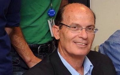 Retired IDF brigadier general Avriel Bar-Yosef (GPO)
