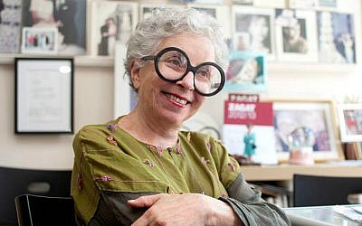 Celebrity cake maker Sylvia Weinstock in her New York office. (Carol Chan)