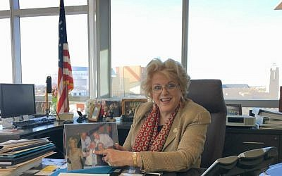 Las Vegas Mayor Carolyn Goodman. (Ron Kampeas/JTA)
