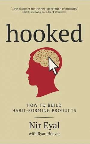 Cover for Nir Eyal's 'Hooked' (courtesy)