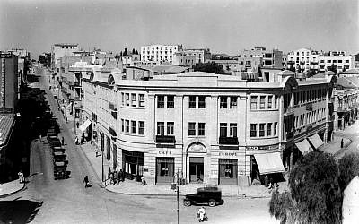 Zion Square in 1935 (GPO)