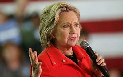 In this Feb. 15, 2016 file photo, Democratic presidential candidate Hillary Clinton speaks in Reno, Nevada. (AP Photo/Marcio Jose Sanchez, File)