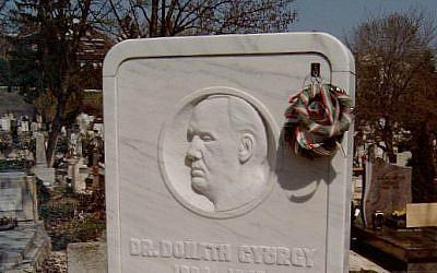Gyorgy Donath's grave in Budapest's Farkasreti Cemetery. (Varga Jozsef/Wikipedia/CC BY-SA 3.0)