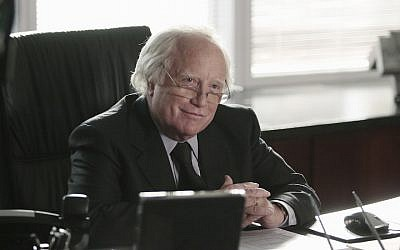 "Richard Dreyfuss playing Bernie Madoff in the 2016 miniseries ""Madoff"" on the ABC Television Network. (Giovanni Rufino/ABC via Getty Images)"