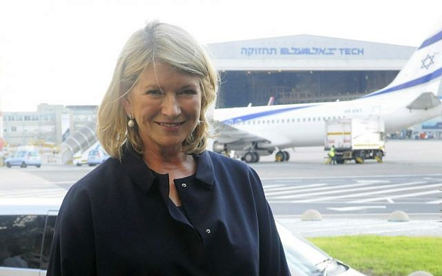 When celebrities like Martha Stewart visit Israel on ministry-sponsored trips, they create a positive buzz that is well worth the expense, according to a tourism ministry spokesperson (Courtesy Flash 90)
