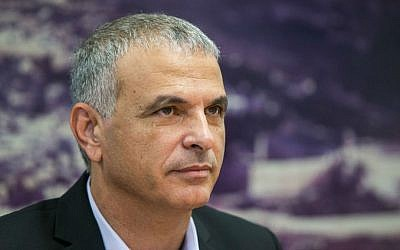 Finance Minister Moshe Kahlon. (Yonatan Sindel/Flash90)