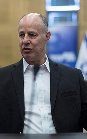 Likud MK and head of the Foreign Affairs and Defense Committee Tzachi Hanegbi. (Yonatan Sindel/Flash90)