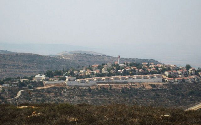 Beit Horon in an undated photograph. (Joshua Davidovich/Times of Israel)