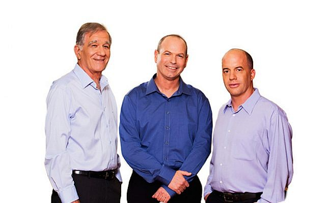 (L to R) ISF Founding Partner  Shmuel Shilo; Dror Glass, Founding Managing Partner; Nir Linchevski, Managing Partner (Courtesy)