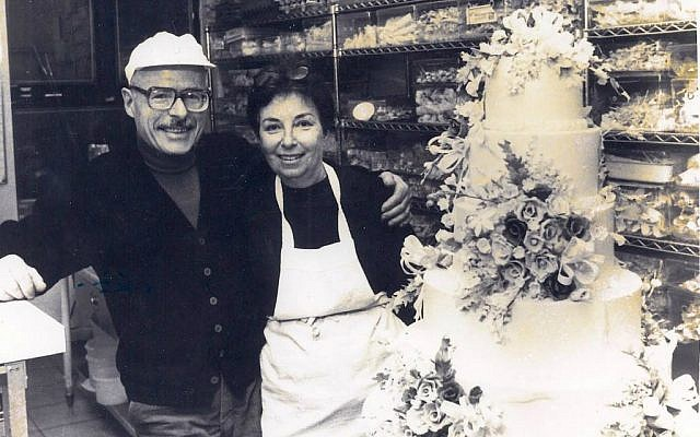 Ben and Sylvia Weinstock in the early days of Sylvia Weinstock Cakes. (Courtesy)