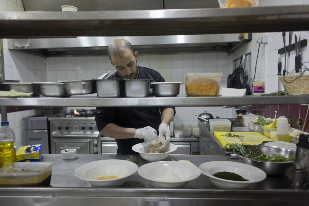 In This Photo Taken On Saay Feb 20 2016 Palestinian Chef Jihad Al