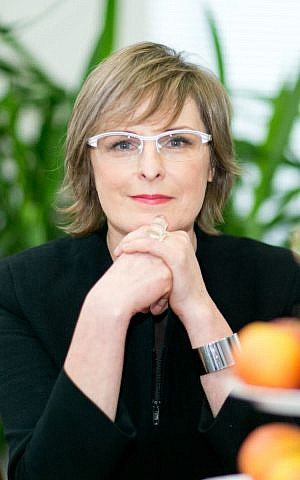 Lithuanian author Ruta Vanagaite (Tomas Bauras)
