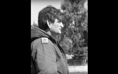 Avigdor Ben-Gal in the 1973 war (IDF archives)