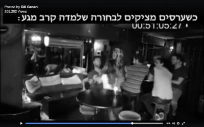 Self-defense footage staged by Krav Maga black-belt Gili Ganani (via Facebook)