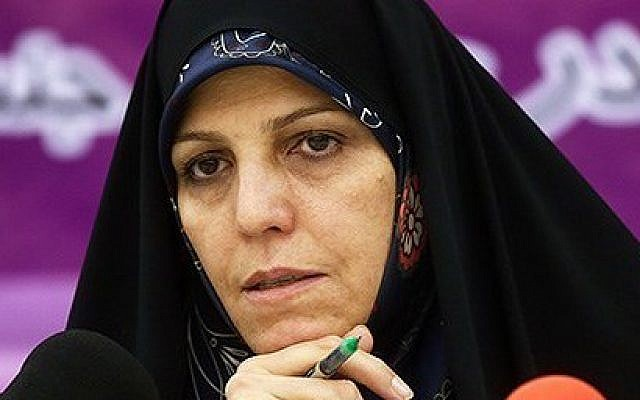 Iranian Vice President for Women and Family Affairs Shahindokht Molaverdi in August 2015. (Tasnim News Agency/Mohammad Ali Marizad)