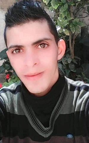 Omar Ahmed Amru, a member of the Palestinian security forces who died while attacking Israeli border police on Sunday, February 15, 2016 (Twitter)
