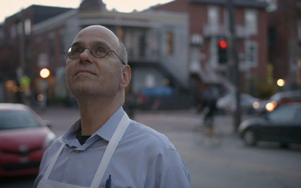 Fairmount Bagel owner Irwin Shlafman in 'Bagels in the Blood.' (Wire Walker Studios)