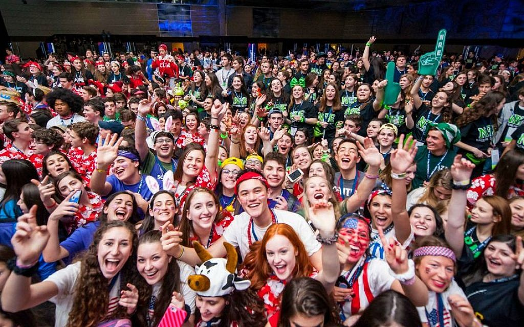 Participants in the BBYO International Convention in Baltimore, February 18, 2016. (Jason Dixson Photography)
