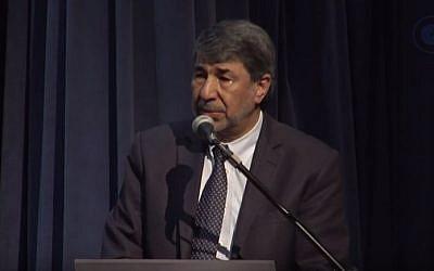 Palestinian Authority envoy to Brazil, Ibrahim Alzeben (YouTube screenshot)