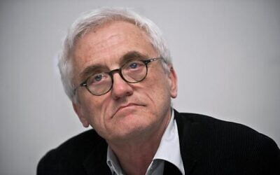 Polish author Jan Tomasz Gross, author of the 2001 book, 'Neighbors,' about the murder of Jedwabne's Jewish community by Polish neighbors. (East News)