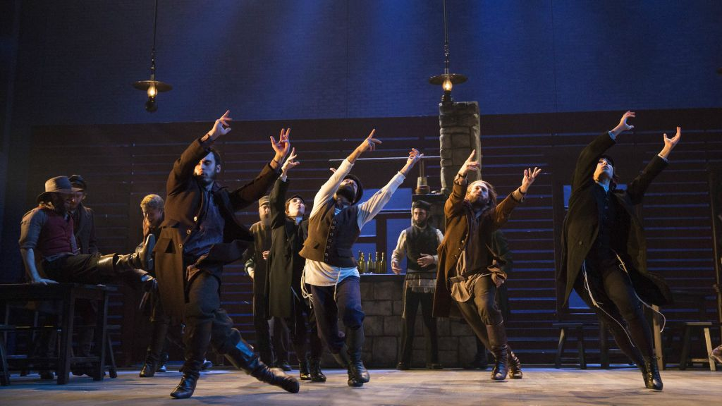 A new look at Jerome Robbins' inspired choreography for 'Fiddler on the Roof' (Courtesy Joan Marcus)