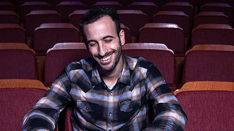 Hofesh Shechter, the Jerusalem-born choreographer responsible for the revival of 'Fiddler on the Roof' (Courtesy Hofesh Shechter Company)